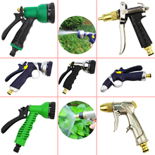 цена на Garden High Pressure Power Water Gun Washer Water Jet Watering Sprinkler Tool Car Bike Garden Washer Hose Wand Nozzle Sprayer