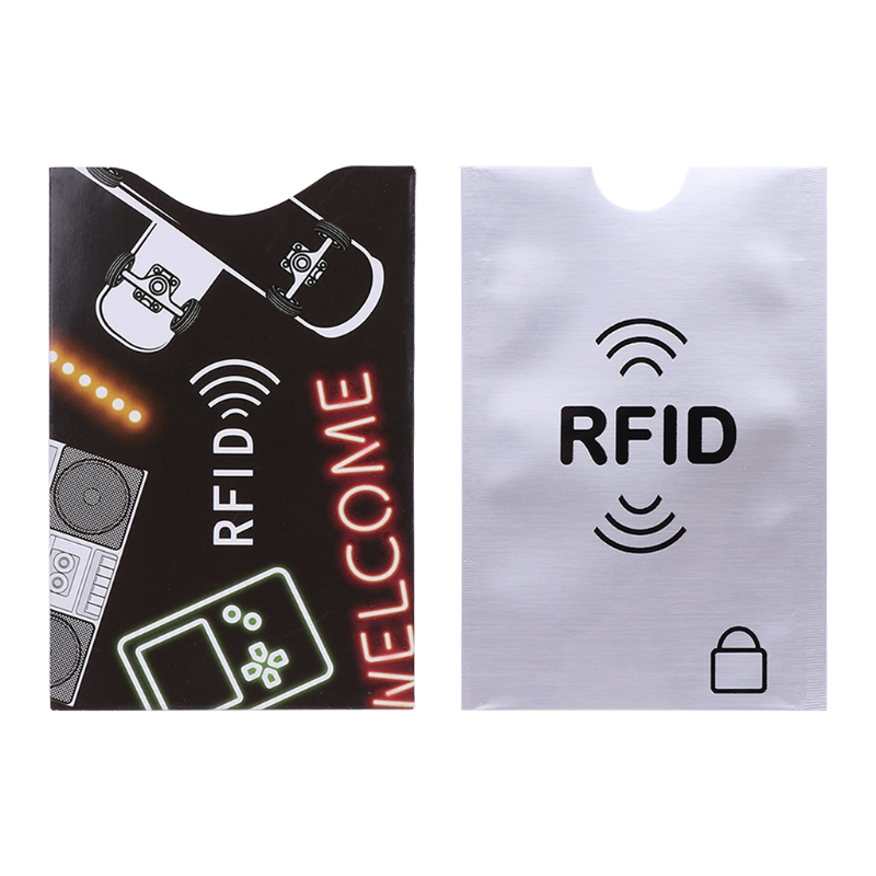 Anti Scan Credit Card Case Cover RFID Protector Shield Holder Secure Case Blocking Sleeve