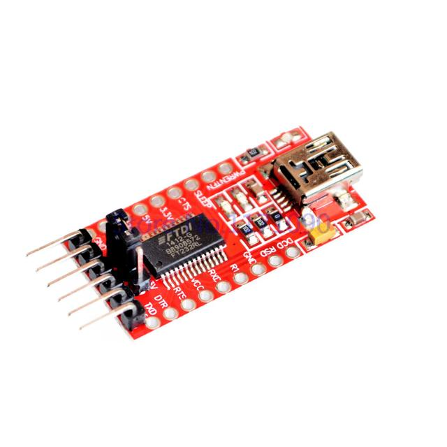 FT232RL FT232 FTDI USB 3.3V 5.5V to TTL Serial Adapter Module Mini Port