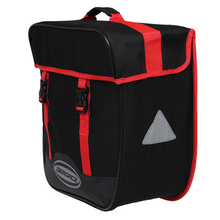 DEROACE Bike Bicycle Cycling Bag Rear Carrier Bag Dual Saddle Bags Pack Trunk Pannier Rain Cover Mountain Bike Bag 2 colors
