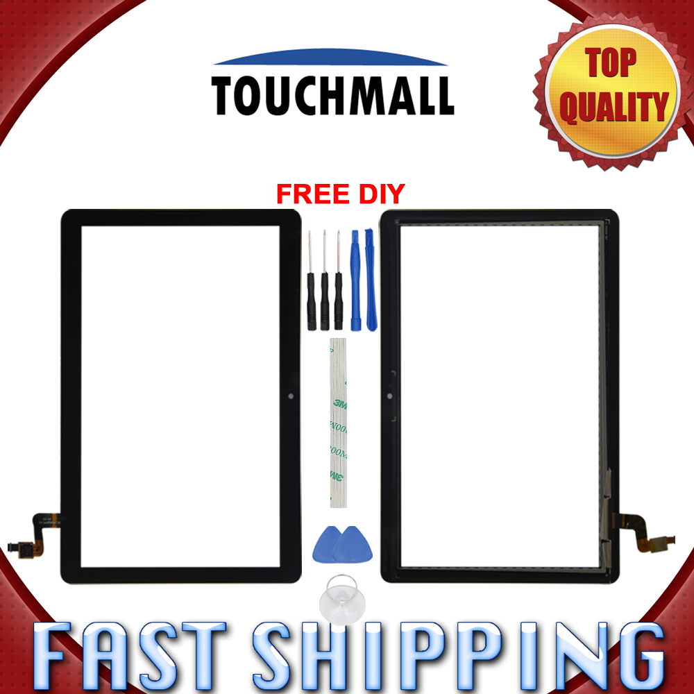 US $11 47 50% OFF|New Touch Screen Digitizer Glass Replacement For Huawei  MediaPad T3 10 AGS L09 AGS W09 AGS L03 9 6 inch Black White+Tools-in Tablet