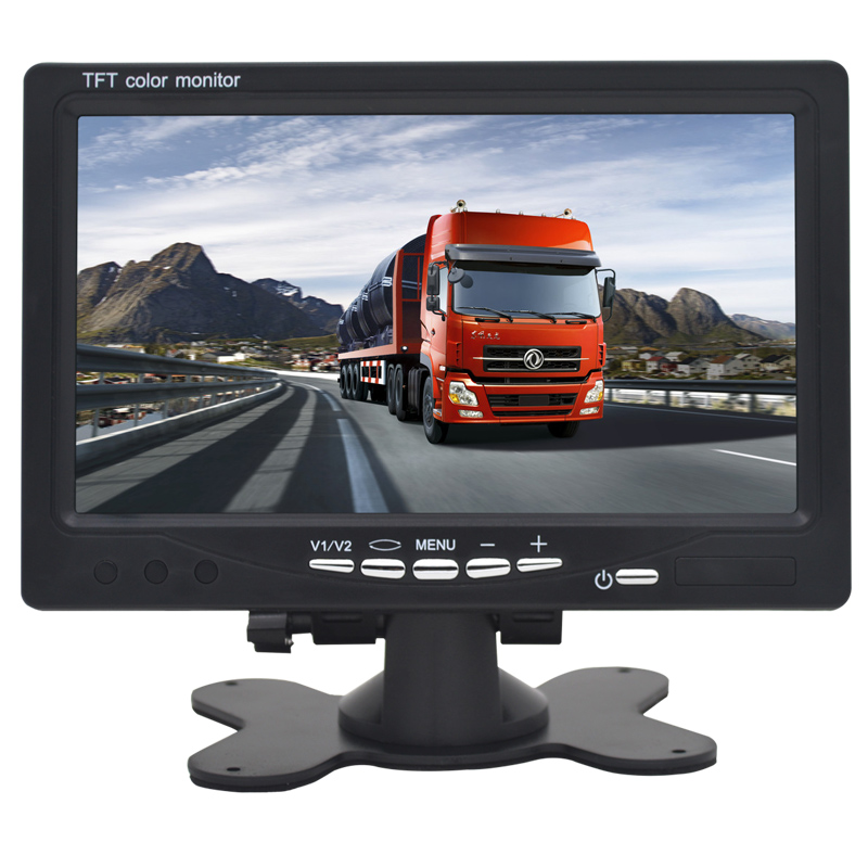 Mini Digital 1024*600 7 Inchs LCD Test Monitor CCTV Surveillance Camera AHD Analog 3 in 1 Security IPS Monitor For Video Camera