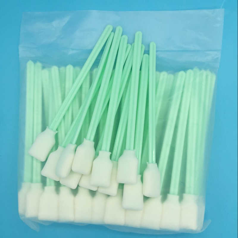 Cleaning Swab DX4 DX5 Dx6 DX7 Head Mimaki Mutoh Printer Tinta Sikat Cleaning Sponge Cleaner Swab Stick 200 pcs/lot