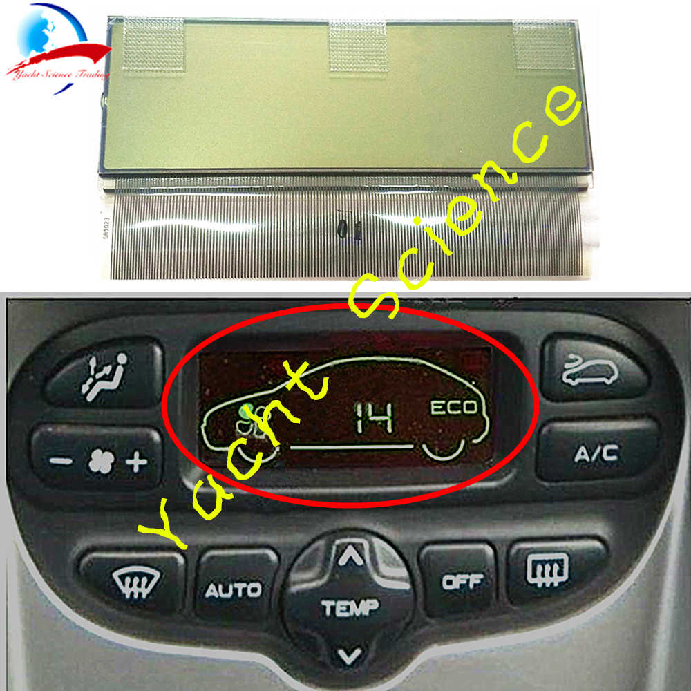 Detail Feedback Questions about Car ACC Unit LCD Display Climate