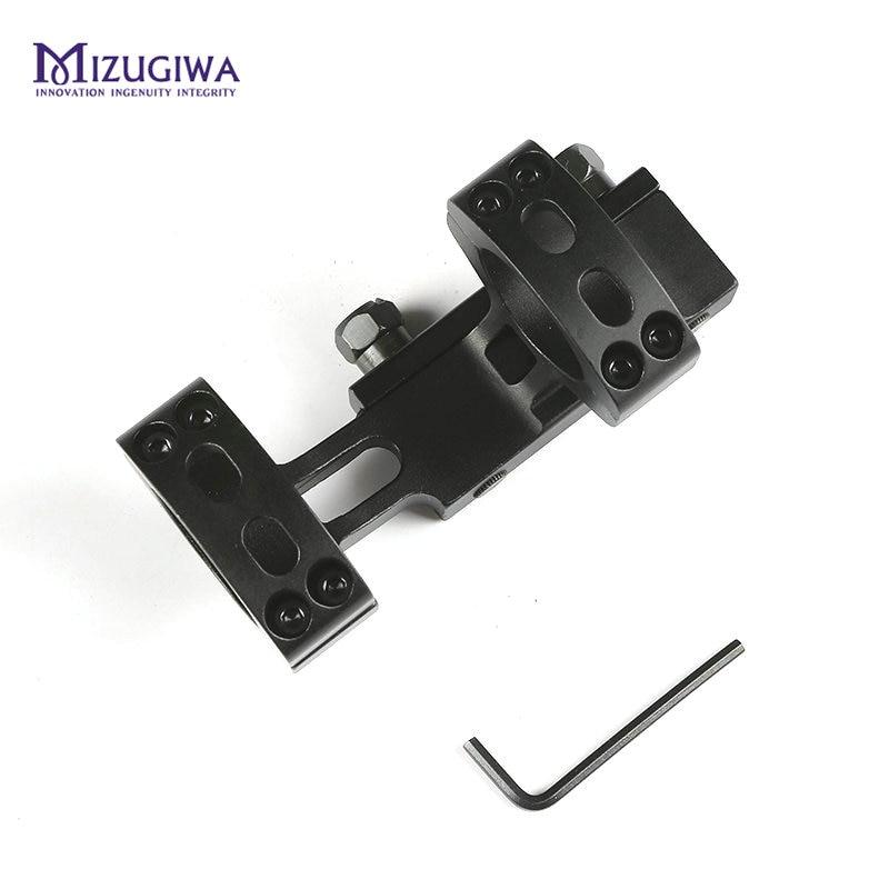 Mizugiwa tático resistente cantilever escopo montar 25.4mm