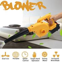 180W Li ion Battery Cordless Electric Air Blower Vacuum Cleaner Blowing Dust collecting Car Computer dust collector cleaner
