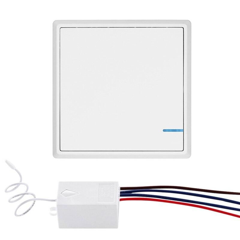 Interrupteur mural intelligent commutateur de commande à distance commutateur intelligent sans fil-autocollants gratuits câblage gratuit commutateur de commande à distance de mur d'hôtel