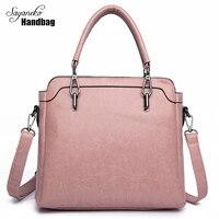 Sayaneko Fashion Handbag Women Top Handle Bags Female Casual Shoulder Bags Brand Design Leather Large Size
