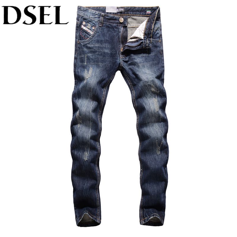 2017 Newly Fashion Designer Men Jeans European American Street Retro Stripe Jeans Mens Pants DSEL Brand Denim Ripped Jeans Male 2 receivers 60 buzzers wireless restaurant buzzer caller table call calling button waiter pager system