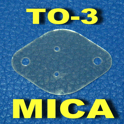 ( 50 Pcs/lot ) TO-3 Transistor Mica Insulator,Insulation Sheet.