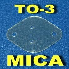 ( 50 шт./лот ) TO-3 транзистор слюды изолятор, Изоляции лист
