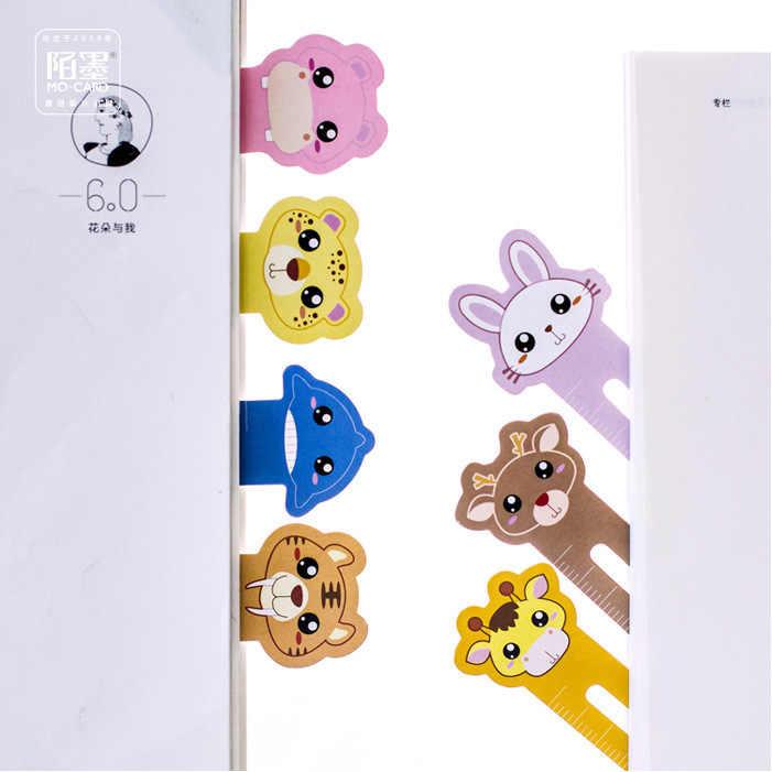 30 יחידות חדש Creative יפה Cartoon חוות חיות סימנייה נייר קידום מכירות מתנת סימנייה כתיבה ציוד לבית ספר
