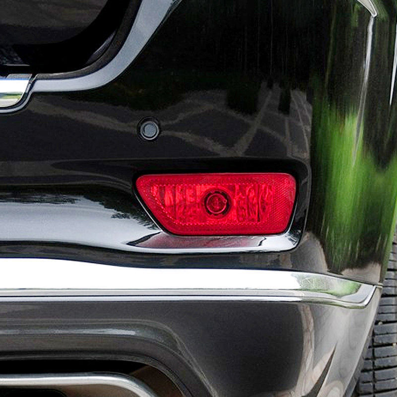 For 11-14 Jeep Compass Chrome Front Fog Lamp Abs Cover