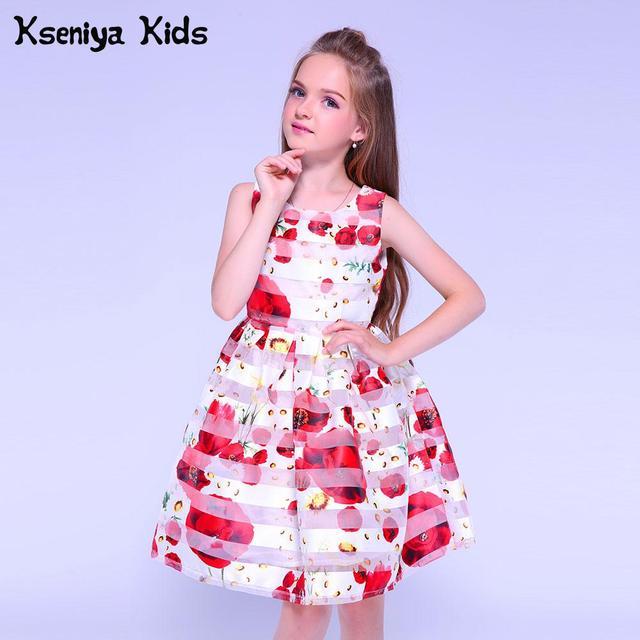 Kseniya Kids Flower Girls Dress For Baby Girl Dress Party Dresses For Girls 10 12 Graduation Gowns Children Evening Dresses Kids