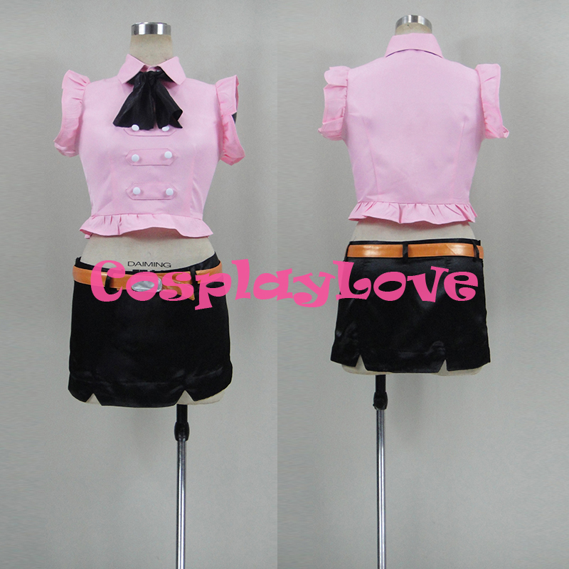 Newest Custom Made Japanese Anime The Seven Deadly Sins Elizabeth Lyonessee Cosplay Costume Christmas Halloween High Quality