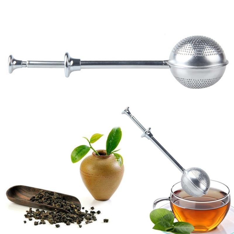 Mesh Tea Strainer Stainless Steel Tea Infuser Reusable Metal Tea Bag Filter Loose Leaf Green Tea Strainer For Mug Teapot Teaware