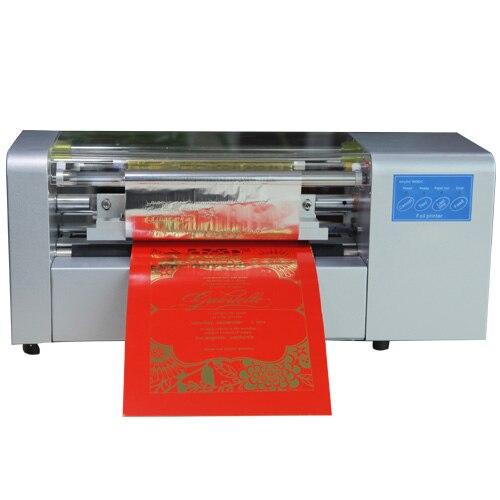 foil press machine digital hot foil stamping printer machine