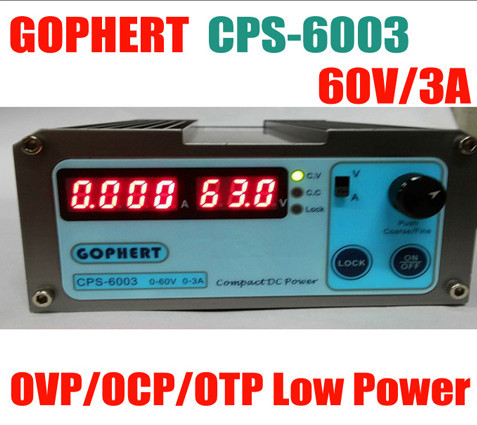 new CPS6003 Precision Compact Digital Adjustable DC Power Supply CPS-6003 OVP/OCP/OTP Low Power 60V3A 110V-220V 0.01V/0.01A cps 6003 60v 3a dc high precision compact digital adjustable switching power supply ovp ocp otp low power 110v 220v