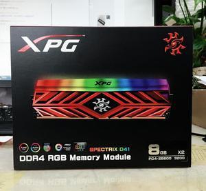 Image 2 - Adata Xpg D41 Pc Desktop Geheugen Ram Memoria Module 8GB16GB 2X8GB DDR4 PC4 3200Mhz 3000 Mhz 2666 Mhz Dimm 2666 3000 3600 Mhz