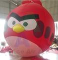 Angepasst Aufblasbare Runde Vogel  wütend vogel modell für werbung  förderung mit Luft Gebläse-in Ballons & Zubehör aus Heim und Garten bei