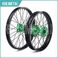 """21"""" 18"""" for KAWASAKI Wheel Set  Hub Rim KX 125 KX-125 KX-250 KX250F KX 250F KX450F 2006 2007 2008 2009 2010 2011 2012 2013 2014"""