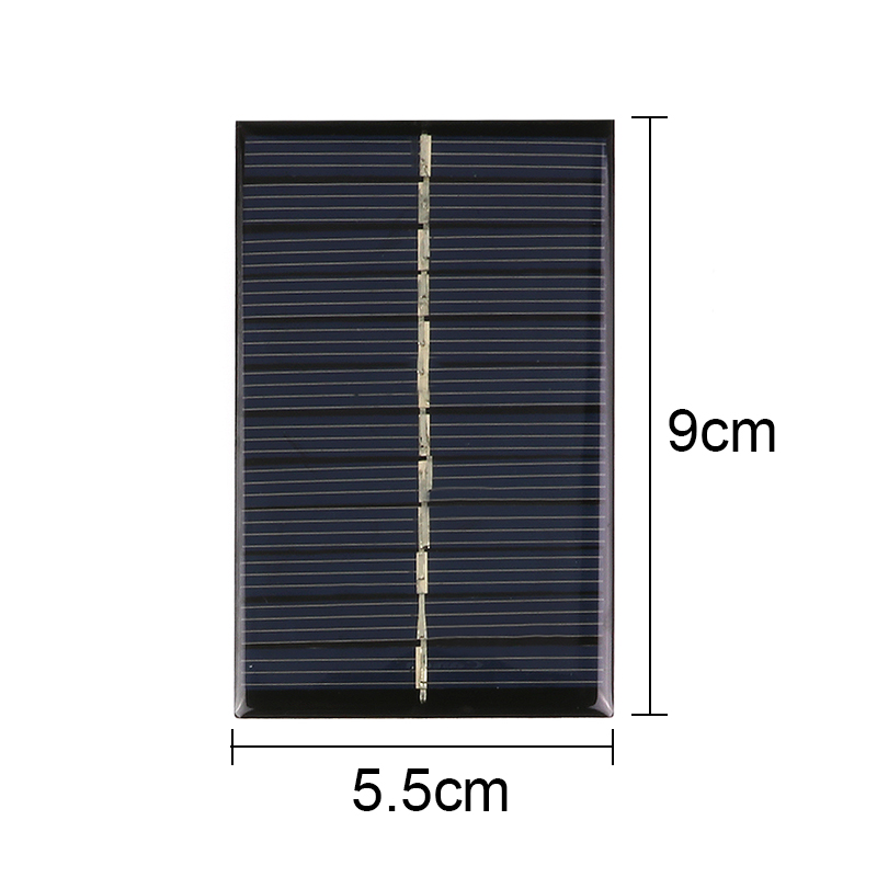 Baterias Solares carregadores portable painel solar Modelo Número : 6V 110ma Solar Power Panel 90*55