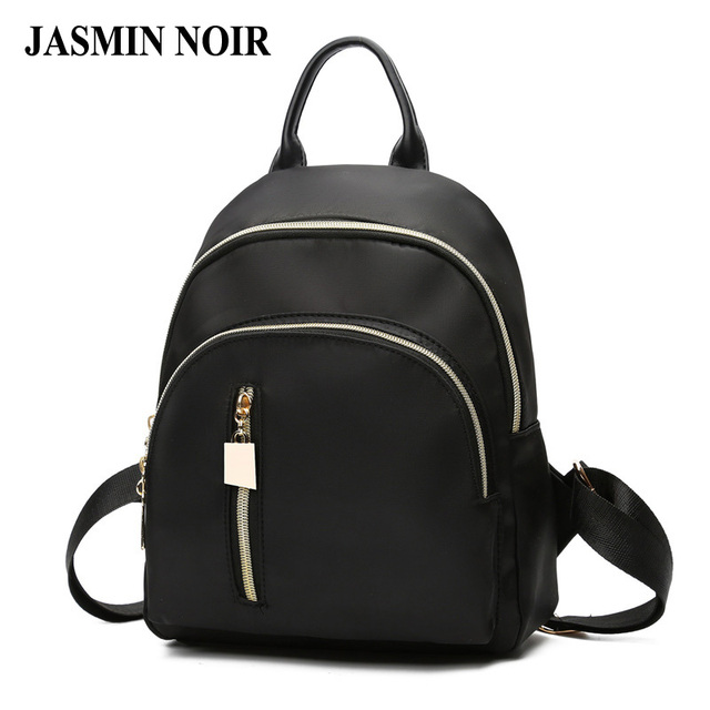 2a138fd8d49 2017 Waterproof Nylon Women Backpack Cheap Female High Capacity Fashion  Rucksack Ladies School Bag College Travelling Knapsack