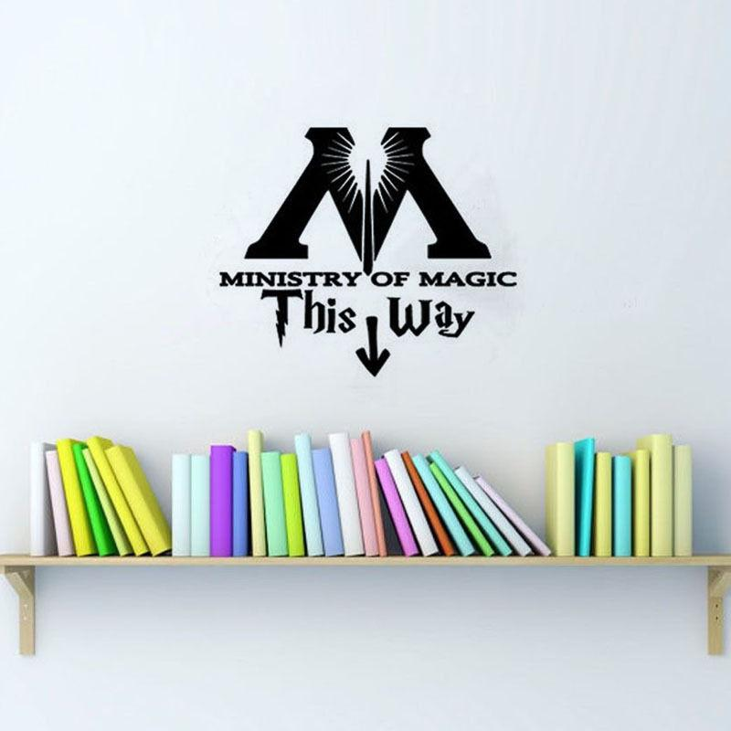Ministry Of Magic This Way Toilet Seat Wall Sticker WC Wallpaper Home  Decor China. Online Buy Wholesale wallpaper wc from China wallpaper wc