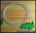 1x8 Puertos SC/APC SM Mini PLC Splitter, FTTH accesorios Para GPON/EPON OLT con conectores 3 unids