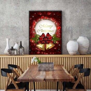 Huacan Official Store Diamond Painting Cartoon Diamond Embroidery Full Set Diamond Mosaic Rhinestone Christmas