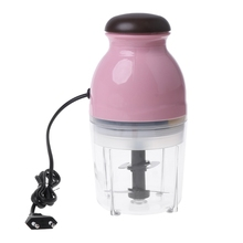 SKYMEN Mini Electric Meat Grinder Food Processor Vegetable Fruit Blender Chopper 600ml for Baby Adults Kitchen Appliance