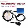 Free shipping Super VIDA DICE PRO+ Full Chip 2014D for volv0 Fimware Update&Self-Test Vida Dice Diagnostic Tool