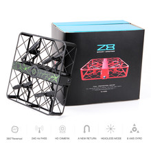 Z8 Remote Control Helicopter Quadcopter With 0.3MP Wifi Camera 6AXIS Altitude Hold UFO Headless Mode drones Pocket Mini Drone