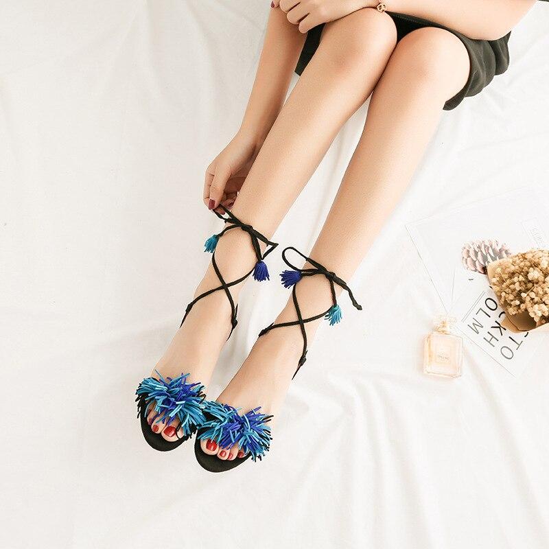 Lacets Chaussures En red D'été blue Femmes À Haute Heels Sexy blue apricot Square Véritable Heels Ouvert Cuir Heel Shehuimei Bout Black Talons De Femme Heel Thin Heel Sandales red Heels Pompes Carré fIvZnxq6