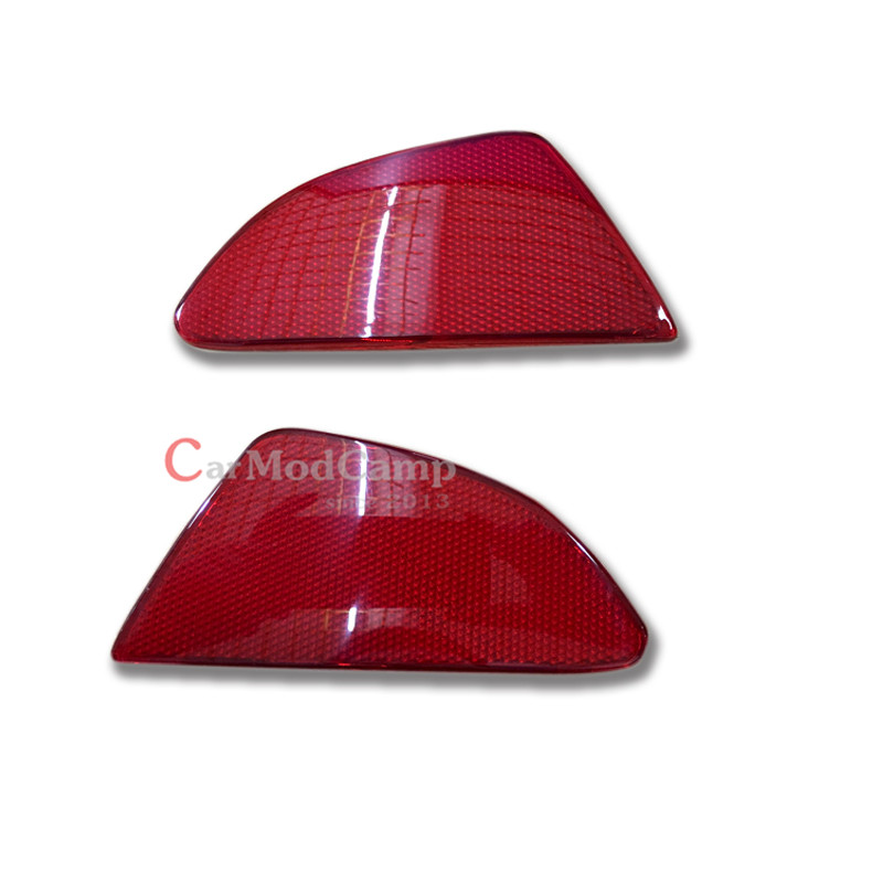 HATCHBACK Only Plastic Rear Tail Fog Light Lamp Reflector Panel Set For Mazda 2 Demio 2015