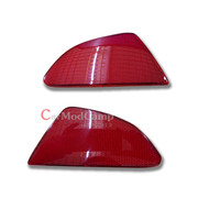 Plastic Rear Tail Fog Light Lamp Reflector Panel Set For Mazda 2 Demio 2015 2016 Car