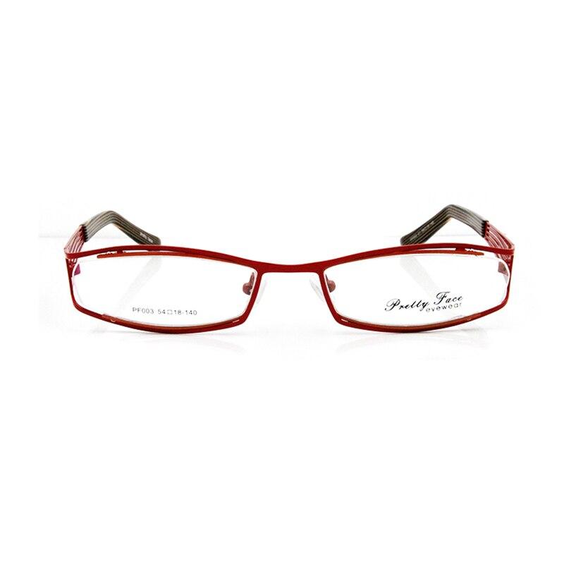 ESNBIE nuevo diseño más barato Metal en doble pintura óptica gafas ...