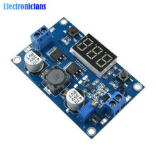 DC 100W LTC1871 3-35V to 3.5~35V Boost Module Step Up Module Power Voltage Converter Regulated Power Supply With LED Voltmeter(China)
