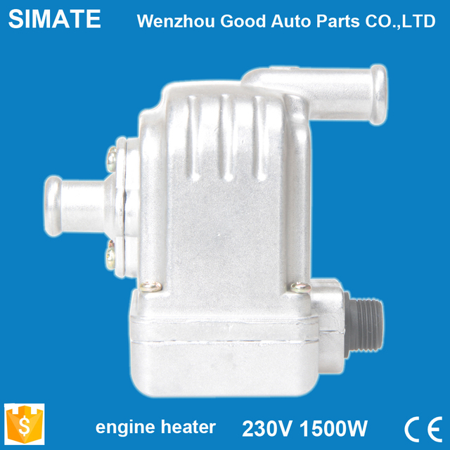 Car Heater Rapid Heating Security Easy to use With the pump Rated voltage 220V Rated power 1500W Engine Heater