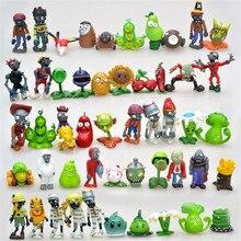 3-8 cm Plantes vs Zombies Action Figure Jouet PVC Plantes vs Zombies Figure Modèle Jouets Pour Enfants Collective Brinquedos