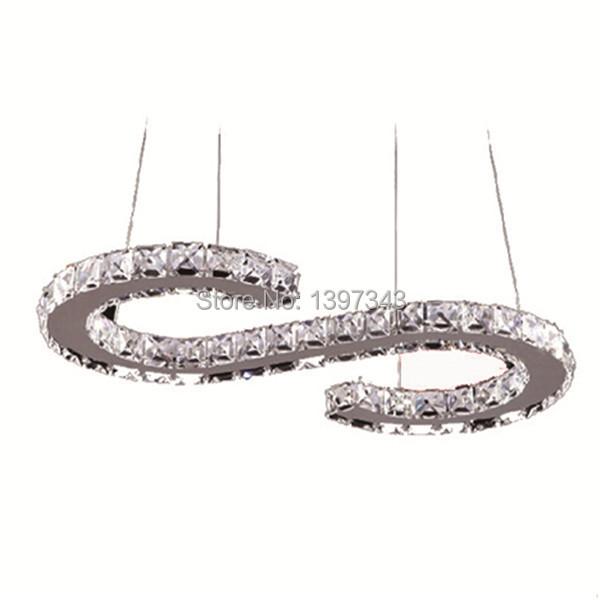 País das maravilhas Forma Lustre de Cristal Design de Luxo Moderno LEVOU S Tamanho 57*28 cm Pingente Lâmpada de Iluminação Transporte Rápido Novo 2015 PL-300