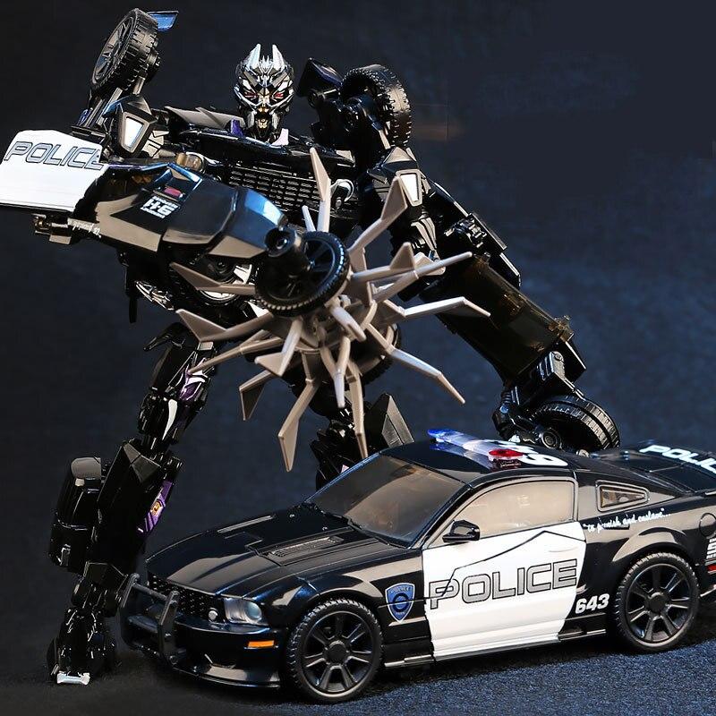 Robot De Película Obra Ls02 Mpm05 18cm Modelo Barricada Alto 5 Transformación Coche Maestra CrdxtQBsh