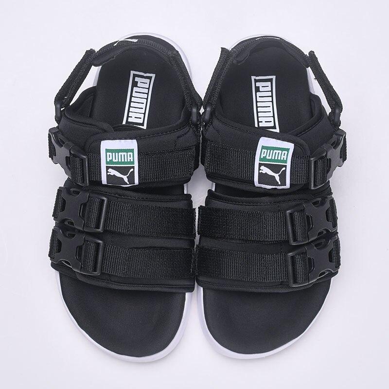 2018 PUMA Для женщин Leadcat YLM HAN KJOBENHAVN шлепанцы Мужские пляжные сандалии обувь дышащая бадминтон обувают 35,5-43