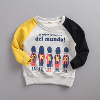 Children S New Cotton Wool Circle Sports Clothes Football Cartoon Casual Fashion T Shirt Special Sale