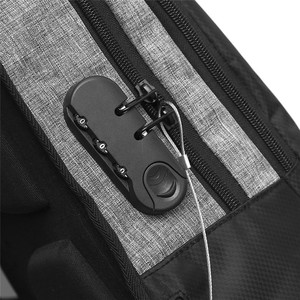 Image 5 - Stilvolle USB Lade Anti diebstahl rucksack Frauen Anti diebstahl rucksack für jugendliche Licht männlichen Laptop rucksack 15,6 zoll Männer