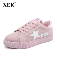 Fashion Women Shoes Women Casual Shoes Comfortable Platform Shoes For All Season Breathable Trainners Star Student