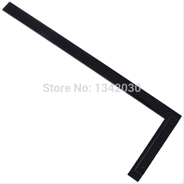 High Quality Glass Tools L Type Ruler For Glass Cutting 60cm