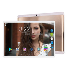 6GB + 128GB Tablet 2.5D Kaca Tablet 10 Inch Android 9.0 Octa Inti 1280X800 HD IPS 3G 4G LTE GPS WIFI Pad 10 10.1 Hadiah(China)