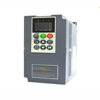 New 3HP 2.2KW VFD Universal Frequency Converter 9.6A 1PH 220V 400Hz VC V/F Control VFD for Spinning Machine