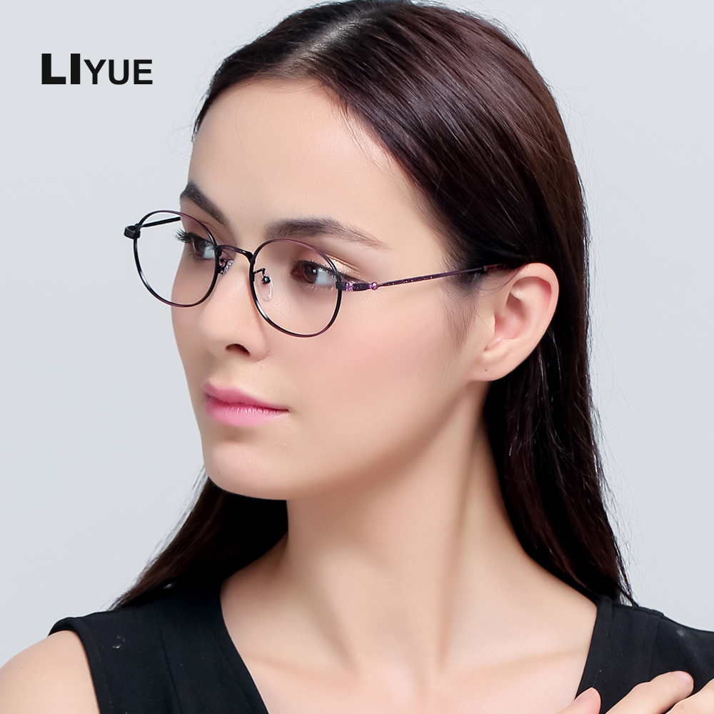 LIYUE New Fashion Women Glasses Top quality Spectacle frames Retro - Apparel Accessories